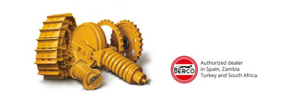 Quality and guarantee in every Blumaq distributed Berco part.
