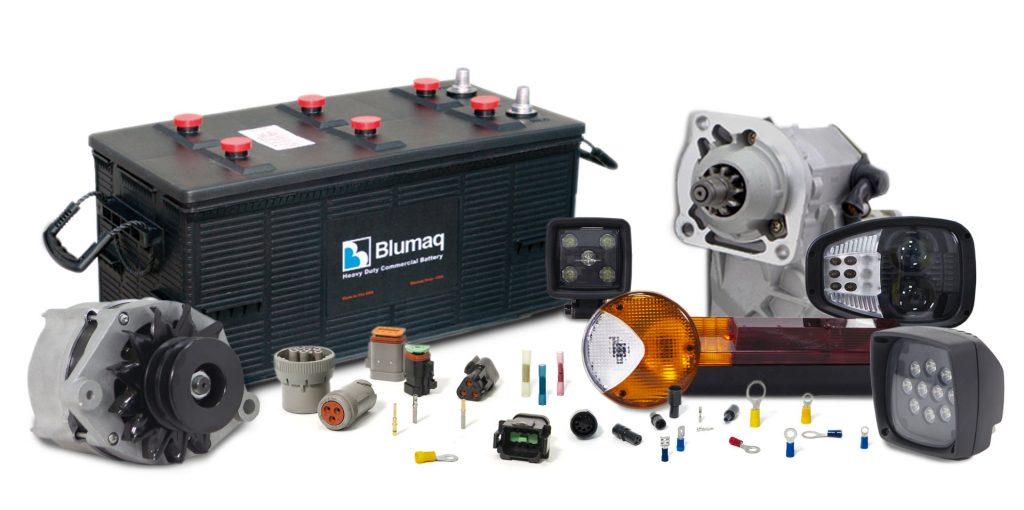 Blumaq electrical parts