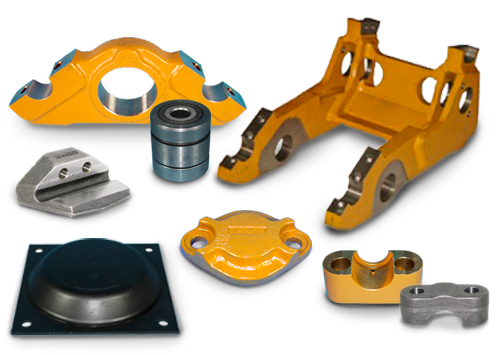 Alternative spare parts Blumaq for Caterpillar machinery