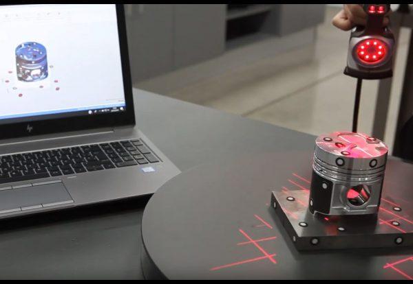 Reverse engineering à l'aide d'un scanner 3D