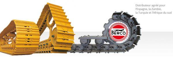 Train de chenilles Berco
