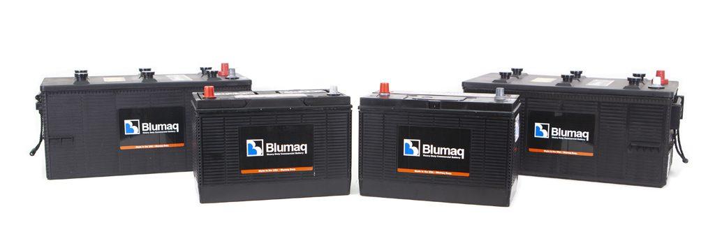 Baterías y piezas electricas blumaq