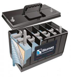Baterias e peças eléctricas blumaq