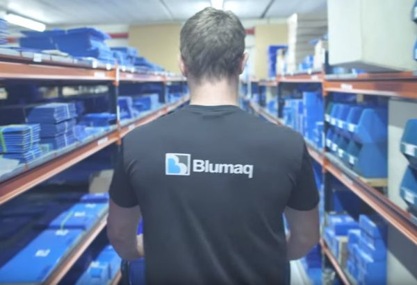 New internal transport system Blumaq
