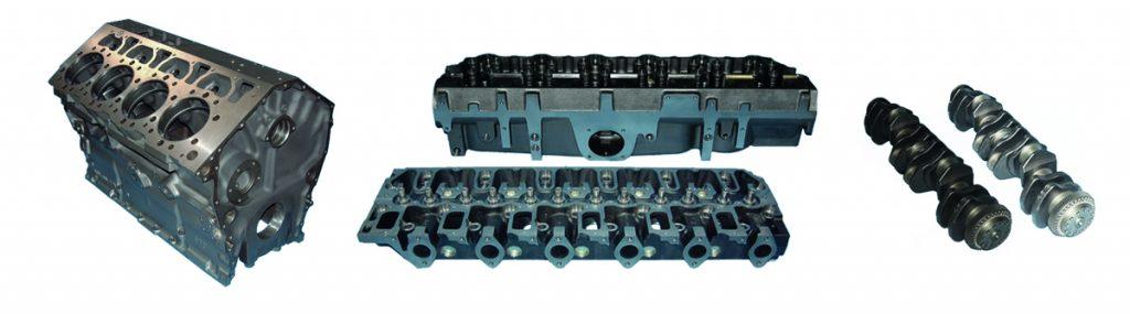 Blumaq komple motor donanımlarını sunuyor.